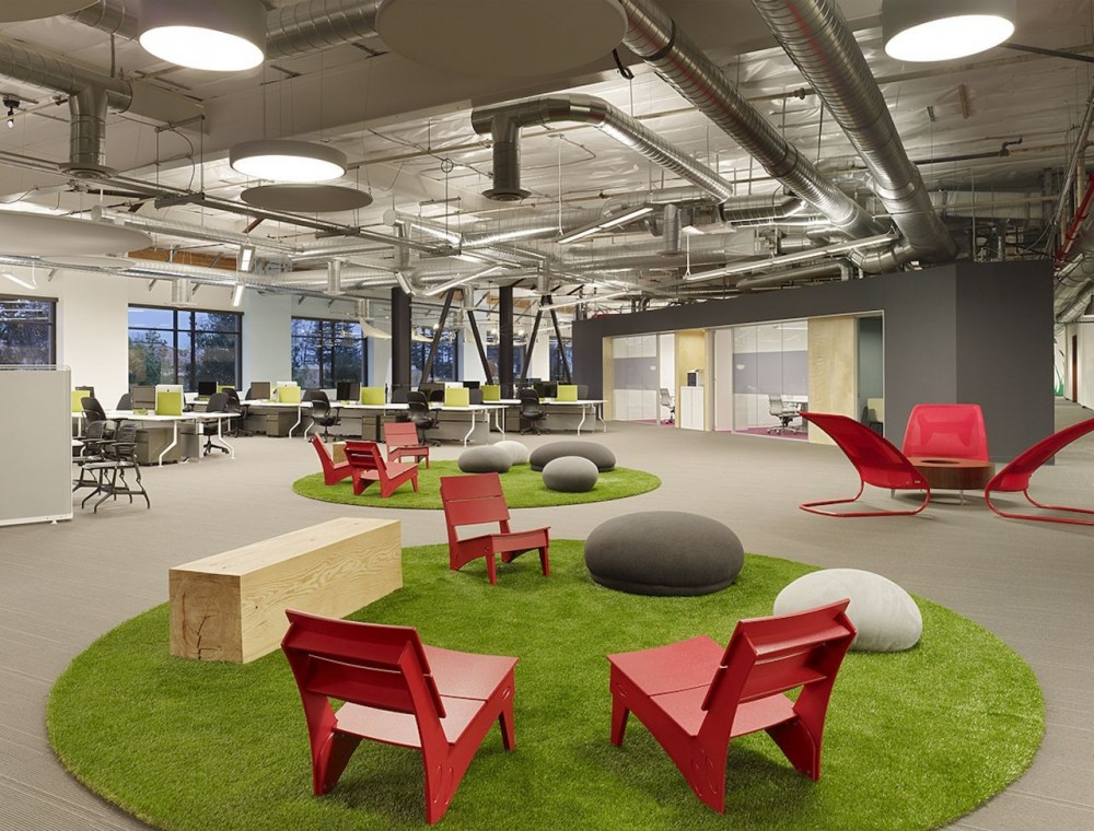 not all office space design and space planning creates uniquely
